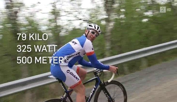 vekt på sykkel
