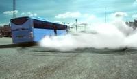 Se, bussen burner...