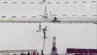 Se den dramatiske innspurten - Fourcade snøt nesten Svendsen for gullet