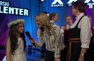 Angelina Jordan og Viva vant finaleplasser i «Norske Talenter»