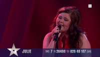 Julie Stokke synger i finalen i Norske Talenter
