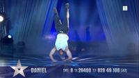 Daniel Grindeland danser i finalen i Norske Talenter