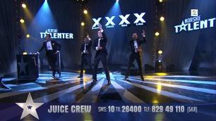 Juice Crew danser i finalen i Norske Talenter