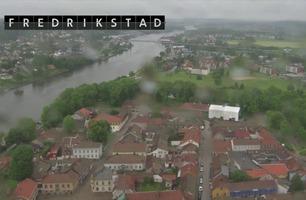 Se flyturen over Fredrikstad