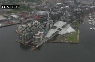 Se Oslo fra «Fly med oss»-helikopteret