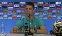FC VM: Ronaldos skitne norsk