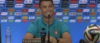 Se her, Ødegaard! Cristiano Ronaldo snakker norsk