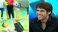 Norske Tobias imponerte Kaká