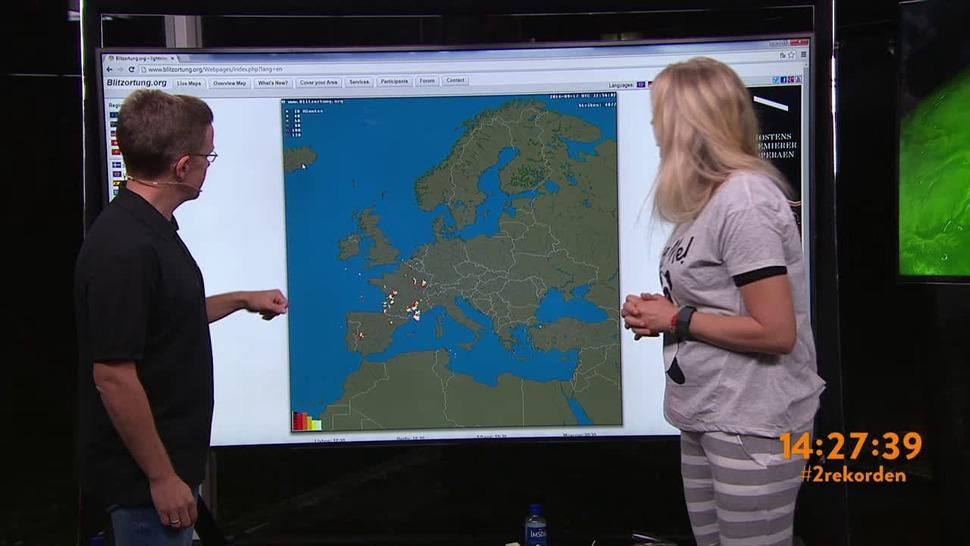 torden kart Lyn og torden   direkte på kartet! torden kart