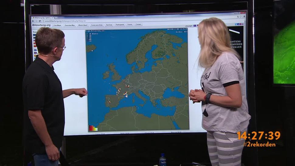 lyn og torden kart Lyn og torden   direkte på kartet! lyn og torden kart