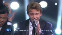 Jesper Jenset synger «Runaway Baby» av Bruno Mars