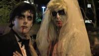 Slik skal stjernene fra serien Walking Dead feire Halloween