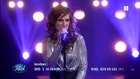 Anniken Høve synger «Uprising» i Idol-semifinalen