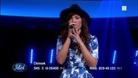 Chinook Lamers synger «Radioactive» i Idol-semifinalen