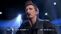 Jørn Trollebø Kvalheim synger «The Pretender» i Idol-semifinalen