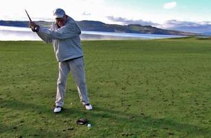 Er Christian (98) Norges eldste golfspiller?