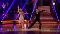 Linnea Myhre danser rumba
