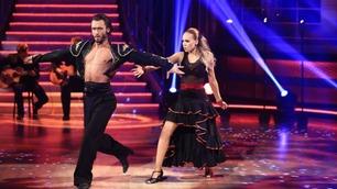 Agnete Kristin Johnsen danser showdans