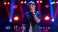 Jesper Jenset synger «Call Me Yours» i Idol