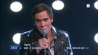Ingvar Olsen synger «Another Tonight» i Idol