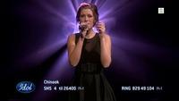 Chinook Lamers synger «Go Home» i Idol