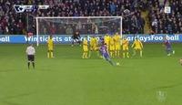 Himmelsk frispark da Palace økte presset på Brendan Rodgers