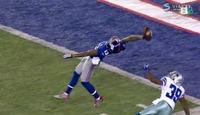 NFL-spiller hylles for UTROLIG prestasjon