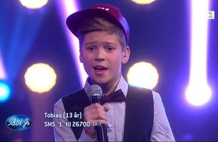 Tobias (13) synger «My Heart Skips A Beat» i Idol Junior-finalen