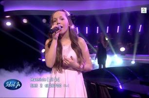 Mathilde (12) synger «Almost Is Never Enough» i Idol Junior-finalen
