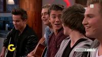 Se «Suite 16»-gutta debutere på direktesendt TV