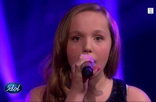 Idol Junior-vinneren Mathilde fremfører «Halo» i Idol-finalen