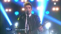 Jørn Trollebø Kvalheim synger «When You Were Young» i Idol-finalen