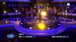 Ingvar Olsen kastet ut øreproppen før han fremførte «Sarah Moore» i Idol-finalen