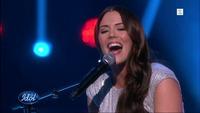 Marion Ravn fremfører «Better Than This» i Idol-finalen