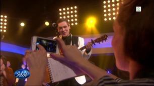Ingvar Olsen synger «Sarah Moore» etter å ha vunnet Idol-finalen