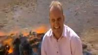 BBC-reporteren blir satt helt ut av narkotikabål