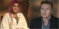 Liam Neeson ble sjarmert av Alexandra Joner