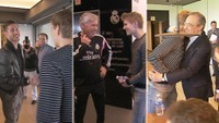 Ødegaard hilste på Ramos og Ancelotti - og fikk bamseklem av klubbpresidenten