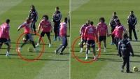 Se Ronaldos to elleville tunneler på lagkamerat