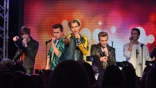 Norges nye boyband Suite 16 holder sin første konsert
