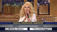 Christina Aguilera med fantastisk parodi av Britney Spears