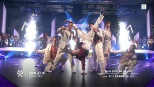 Thomas «Fingern» Gullestad og Absence danser andre finaledans i «Mitt Dansecrew»
