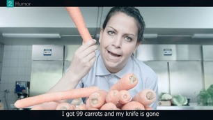 Suksesskolen: – I got 99 carrots and my knife is gone
