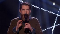 Thomas Robert von Werden på blind audition i The Voice