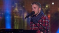 Ola Strand Rønning på blind audition i The Voice