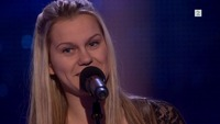Karoline Sem Larm på blind audition i The Voice