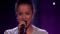 Amanda Kamara på blind audition i The Voice