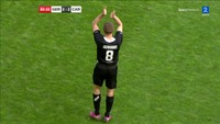Gerrard forlot banen til stående applaus