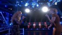 Marianne Engebretsen og Ulrikke Brandstorp i The Voice-duell