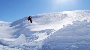 I dette alpinanlegget er sesongen ennå ikke i gang